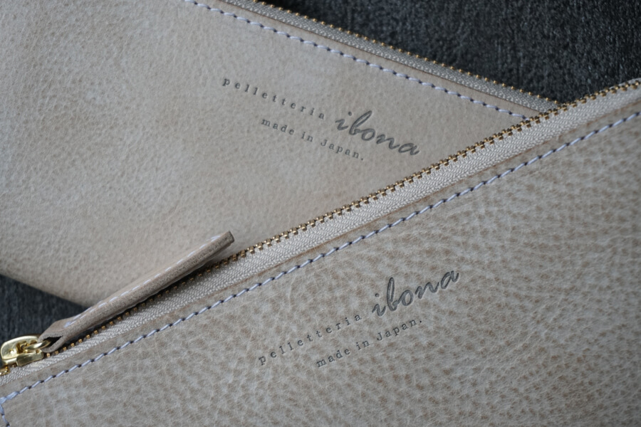 イボーナ長財布の個体差・シボや血筋